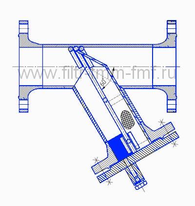 Фильтр сетчатый типа ФС-XI